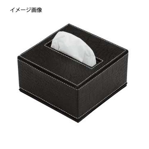 【まとめ買い10個セット品】シンビ ティッシュBOX(ティッシュボックス)ハーフ TM-C クロコダイル