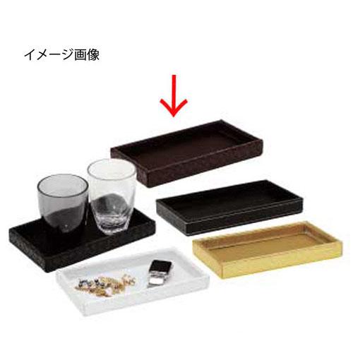 【まとめ買い10個セット品】シンビ グラス兼アクセサリートレー TM-F ブラウン