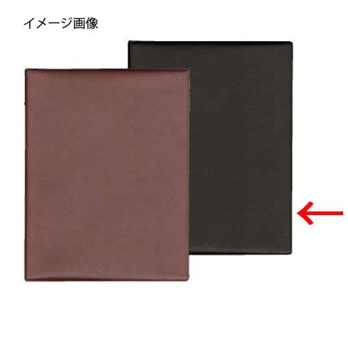 【まとめ買い10個セット品】シンビ メニューブック スリム-B・MU 黒