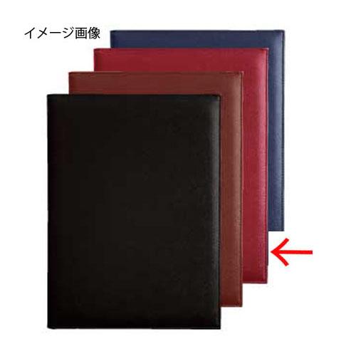 【まとめ買い10個セット品】シンビ メニューブック スリムB-PRD-101 赤