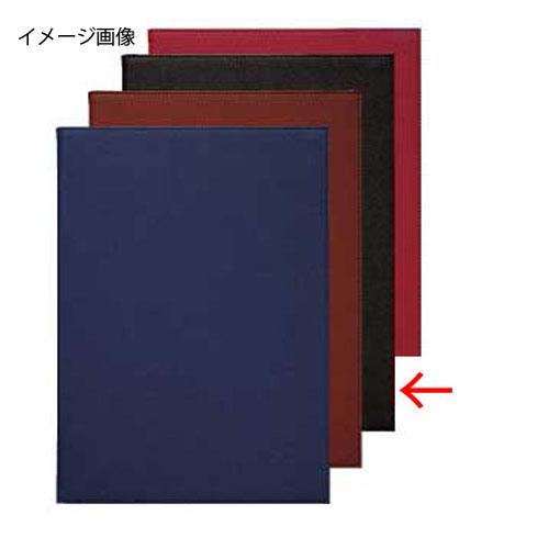 【まとめ買い10個セット品】シンビ メニューブック PRD-101 黒