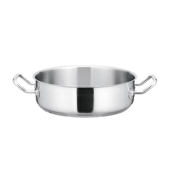 【まとめ買い10個セット品】 KYS NEWPRO IH外輪鍋(蓋無) 30cm 【ECJ】