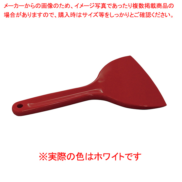 【まとめ買い10個セット品】 シリコンクリーンヘラ L ホワイト 【ECJ】