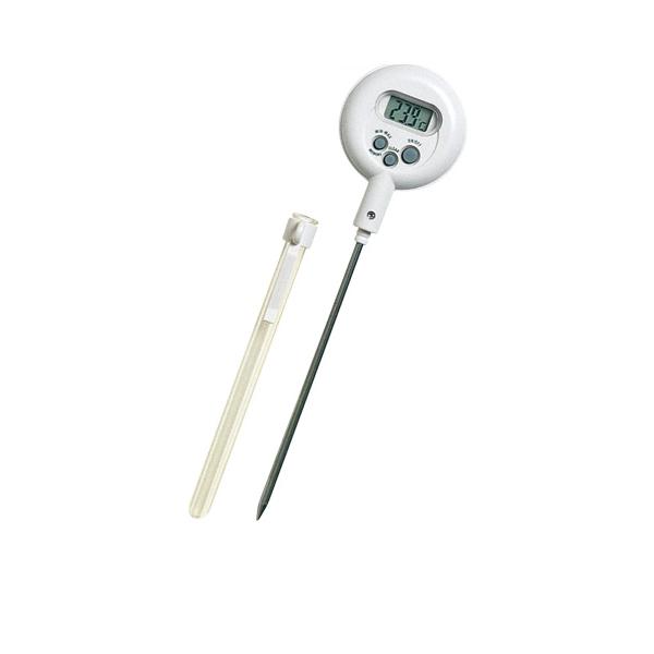 【即納】【まとめ買い10個セット品】 カスタム 防滴型ペン温度計 CT-410WR 【ECJ】