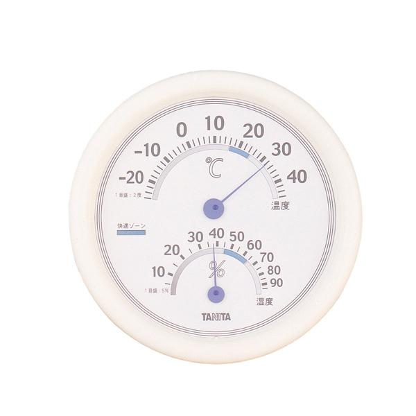 【即納】【まとめ買い10個セット品】 温湿度計 TT-513 ホワイト タニタ 【ECJ】