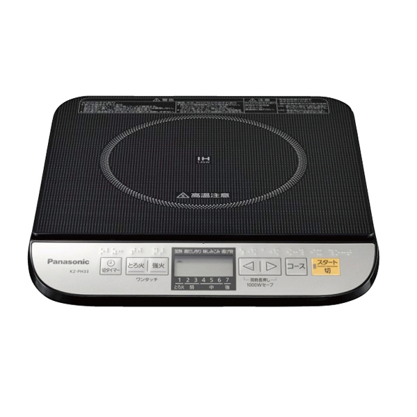 【即納】【まとめ買い10個セット品】 IH調理器 KZ-PH33-K パナソニック 【ECJ】