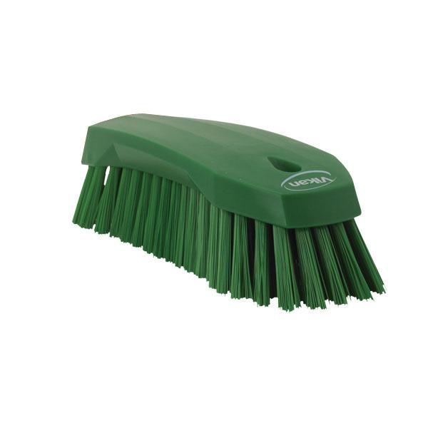 ハード 【ECJ】 【まとめ買い10個セット品】 ヴァイカン 3890 緑 ハンドブラシ