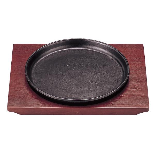 【まとめ買い10個セット品】 カトレヤ ステーキ皿 丸型 大 21cm 【ECJ】