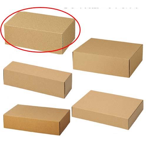 【まとめ買い10個セット品】 ナチュラルボックス 30×19×11.5 10枚【店舗什器 小物 ディスプレー ギフト ラッピング 包装紙 袋 消耗品 店舗備品】【ECJ】