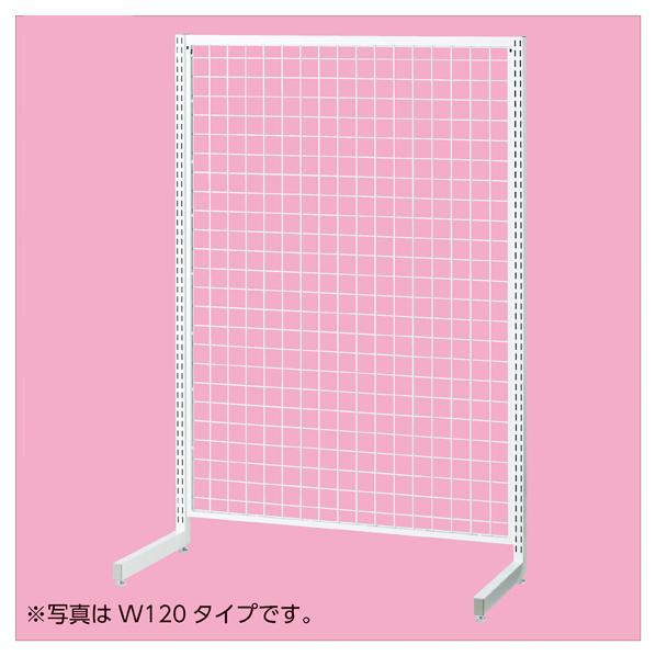 【まとめ買い10個セット品】 SR90強化型片面本体ホワイト H150cm 【ECJ】