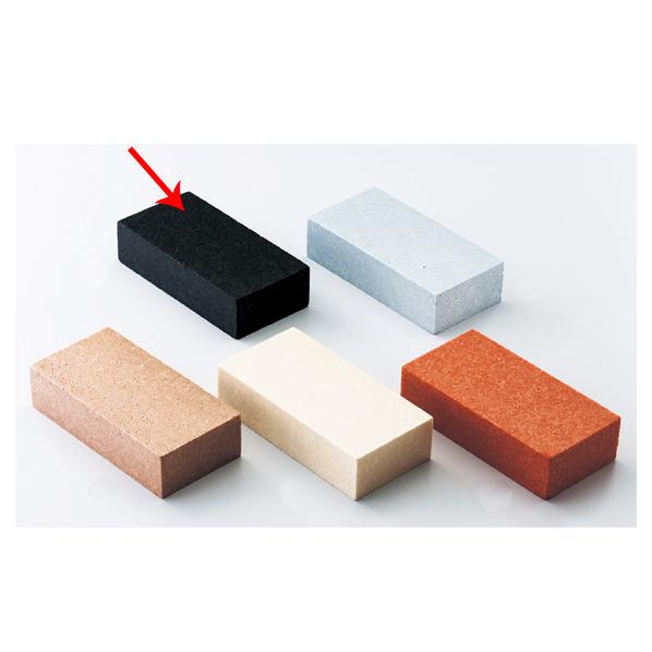 【まとめ買い10個セット品】 カラーレンガブロック ブラック 5個 【ECJ】