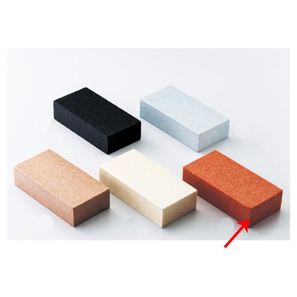 【まとめ買い10個セット品】 カラーレンガブロック ブラウン 5個 【ECJ】
