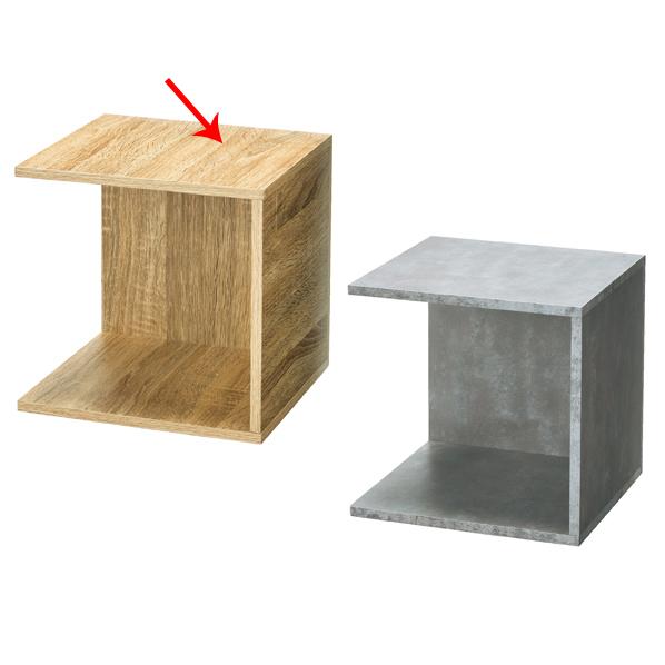 【まとめ買い10個セット品】 木製4面ボックス ラスティック柄 【ECJ】