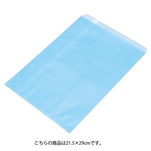 【まとめ買い10個セット品】 筋入りカラー無地 ブルー 21.5×29 2000枚【ECJ】