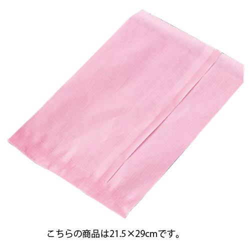 【まとめ買い10個セット品】 筋入りカラー無地 ピンク 21.5×29 2000枚【ECJ】