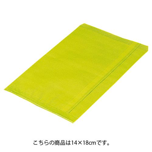 【まとめ買い10個セット品】 筋入りカラー無地 ライトグリーン 14×18 6000枚【ECJ】