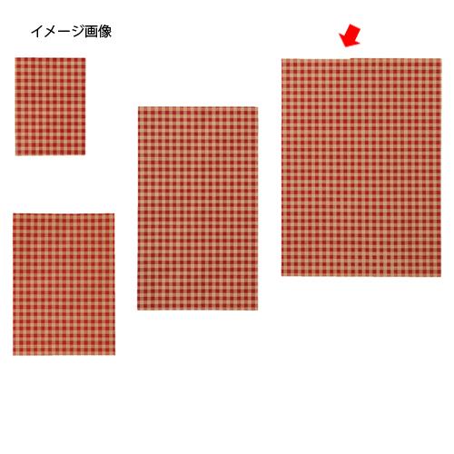 ギンガムチェック レッド 18×24.5 1000枚【ECJ】