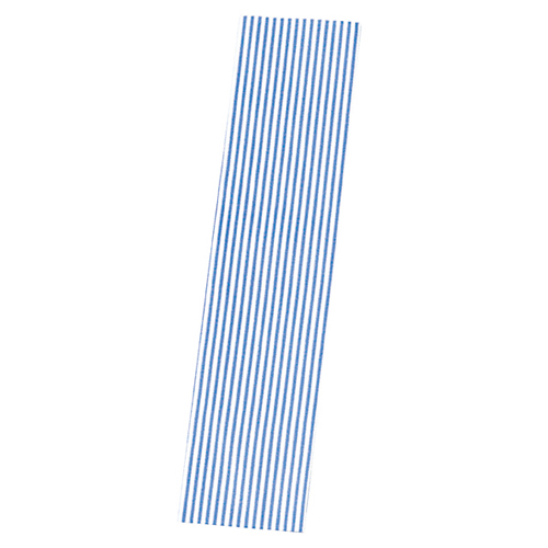 【まとめ買い10個セット品】 モノストライプ 5.5×24.5 3000枚【店舗什器 小物 ディスプレー ギフト ラッピング 包装紙 袋 消耗品 店舗備品】【ECJ】