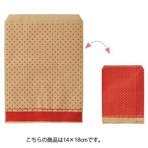 ピンドット レッド 14×18 6000枚【ECJ】