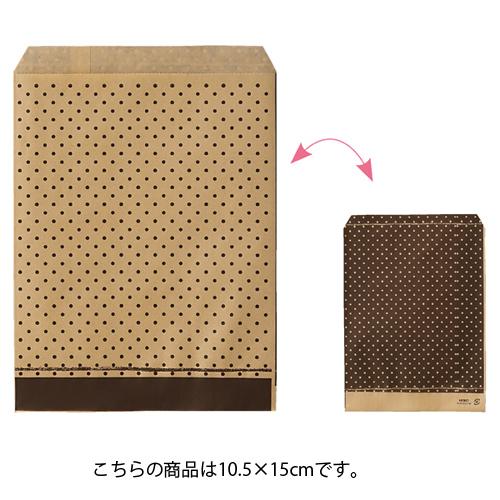 ピンドット ブラウン 10.5×15 6000枚【ECJ】