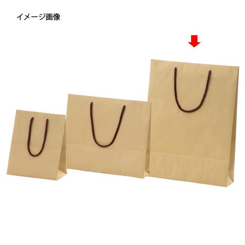 【まとめ買い10個セット品】 カラー手提げ紙袋 クラフト 33×10×45 100枚【店舗什器 小物 ディスプレー ギフト ラッピング 包装紙 袋 消耗品 店舗備品】【ECJ】