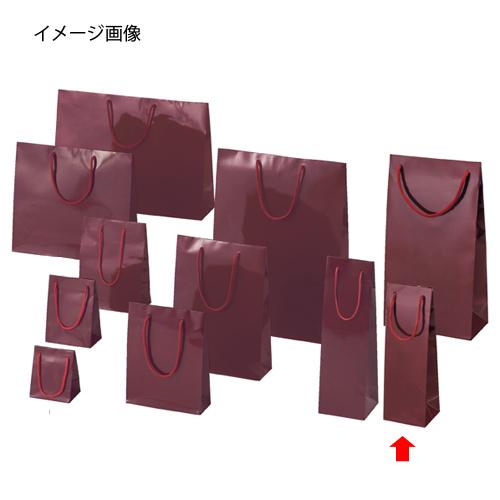【まとめ買い10個セット品】 ブライトバッグ エンジ 9.5×8×29 50枚【店舗什器 小物 ディスプレー ギフト ラッピング 包装紙 袋 消耗品 店舗備品】【ECJ】