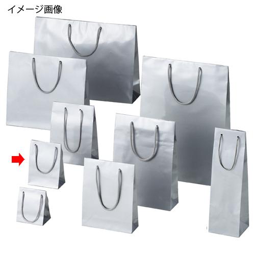 【まとめ買い10個セット品】 ブライトバッグ シルバー 12×7×16.5 10枚【店舗什器 小物 ディスプレー ギフト ラッピング 包装紙 袋 消耗品 店舗備品】【ECJ】