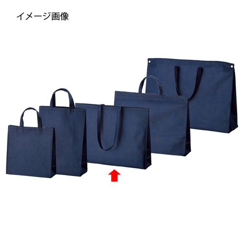 不織布バッグ 紺 53×12×40 ショルダータイプ 100枚【ECJ】