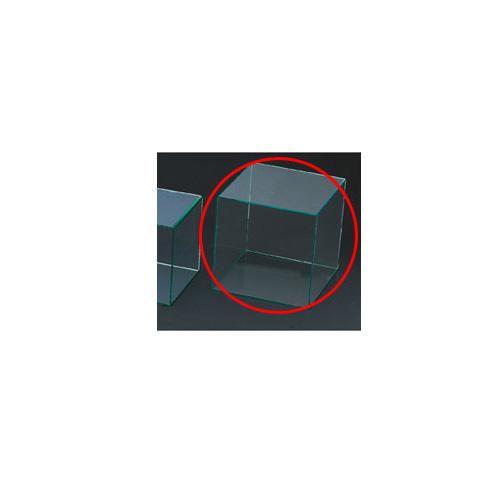 【まとめ買い10個セット品】 アクリル4面ボックス グリーンエッジ 30cm角【店舗什器 小物 ディスプレー パネル ディスプレー 棚 店舗備品】【ECJ】