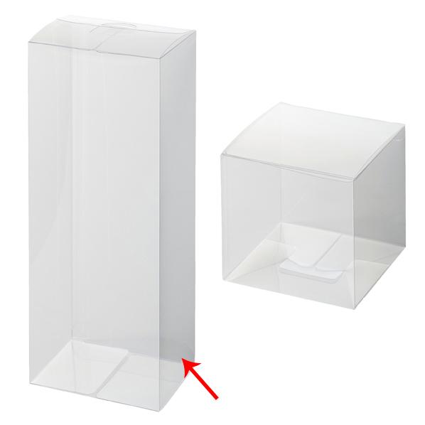 【まとめ買い10個セット品】 セットアップクリア四角BO×9×7×25cm10枚 【ECJ】