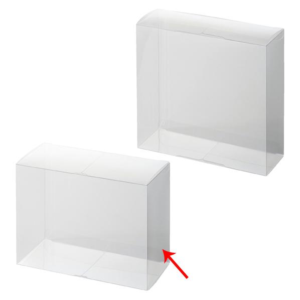 【まとめ買い10個セット品】 セットアップクリア四角BO×15×7×12cm10枚 【ECJ】