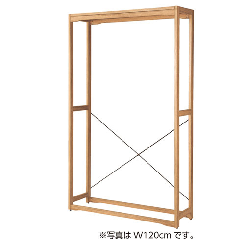 【業務用】ウェルウッド 壁面タイプ W90cmタイプ 本体 木天板セット【店舗什器 パネル ディスプレー 棚 店舗備品】【ECJ】
