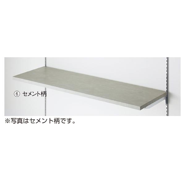 【まとめ買い10個セット品】 木棚W90×D25cm ラスティック柄 (ダボ8穴/芯々588・888) 【ECJ】