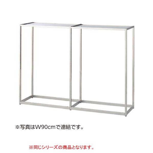 【まとめ買い10個セット品】 LR4中央片面SUS W120×H135cm本体セメント柄木天板セット 【ECJ】
