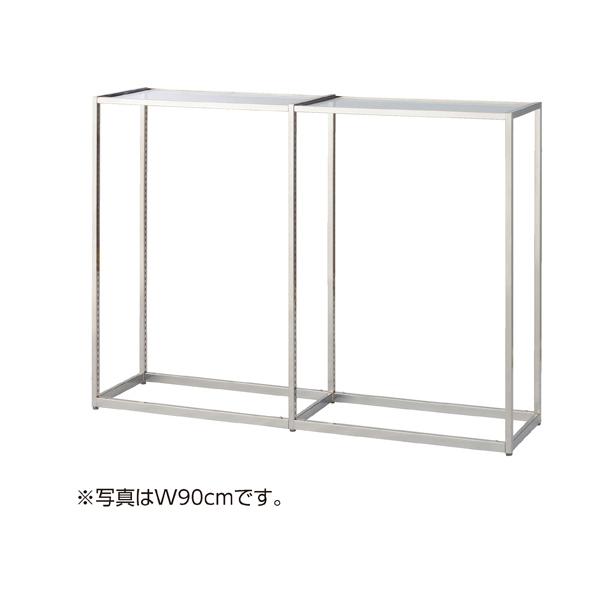 【まとめ買い10個セット品】 LR4ステンレス中央片面W120×H135cm連結ガラス 天板セット 【ECJ】