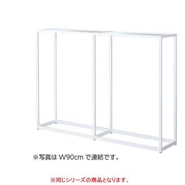 【まとめ買い10個セット品】 LR4中央片面ホワイト本体W120×H135cmアンティークホワイト 木天板セット 【ECJ】