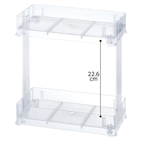 【まとめ買い10個セット品】 樹脂製ラック 小型 【ECJ】