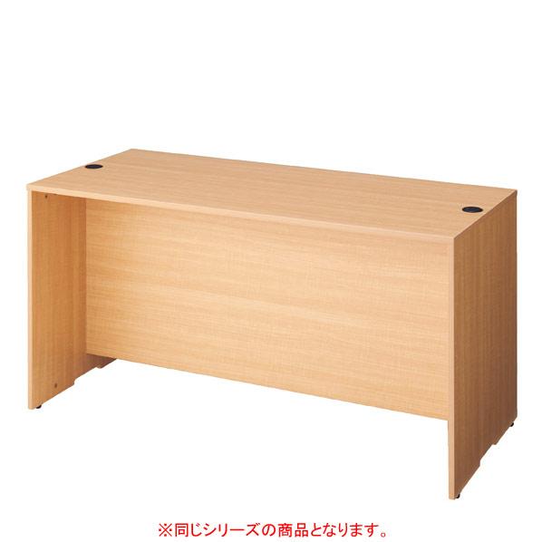 【まとめ買い10個セット品】 木製ローカウンターW140cm ダークブラウン 【ECJ】