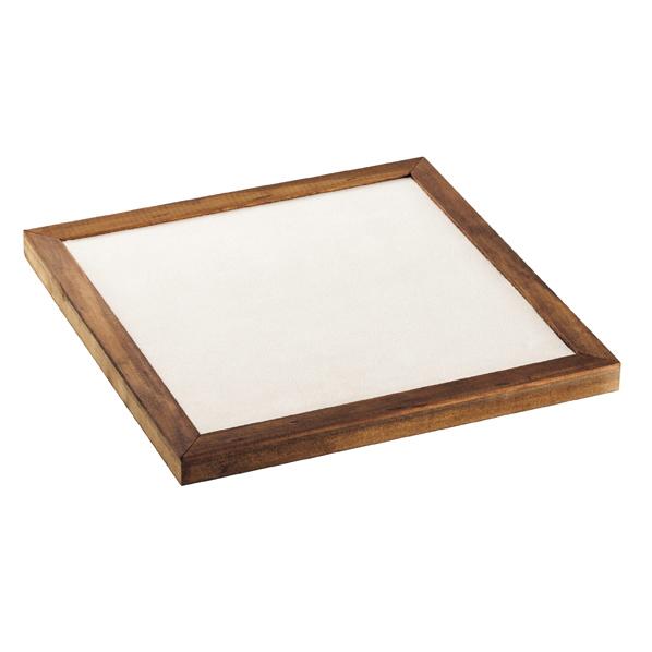 【まとめ買い10個セット品】 木枠付きステージ30cm角1枚 【ECJ】