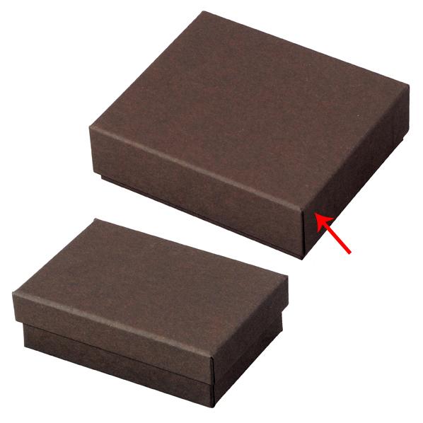 【まとめ買い10個セット品】 フェザーケース ブラウン 10.1×8.7×3.1cm 12個 【ECJ】