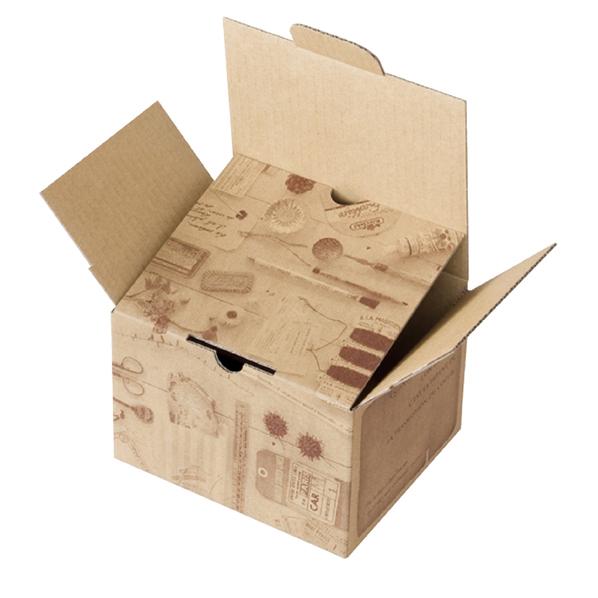 【まとめ買い10個セット品】 宅配BO×コラージュ16.5×14×11.5cm 10枚 【ECJ】