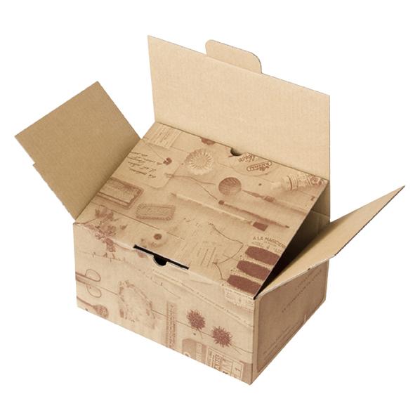 【まとめ買い10個セット品】 宅配BO×コラージュ26.5×19×13.5cm 10枚 【ECJ】
