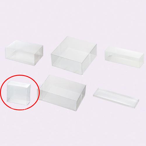 【まとめ買い10個セット品】 クリアボックス(ワンタッチ組立式) 17.5×5.2×10.5 10枚【店舗什器 パネル ディスプレー 小物 棚 店舗備品】【ECJ】