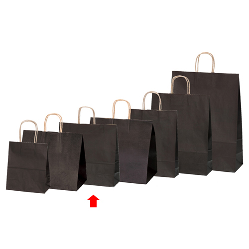 【まとめ買い10個セット品】 カラー手提げ紙袋 ブラウン 32×11.5×31 200枚【店舗備品 包装紙 ラッピング 袋 ディスプレー店舗】【ECJ】