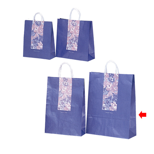 【まとめ買い10個セット品】 ブロッサム 38×15×50 200枚【店舗備品 包装紙 ラッピング 袋 ディスプレー店舗】【ECJ】