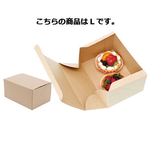 【まとめ買い10個セット品】 ネオクラフトBOX ケーキBOX L 20枚【店舗備品 包装紙 ラッピング 袋 ディスプレー店舗】【ECJ】