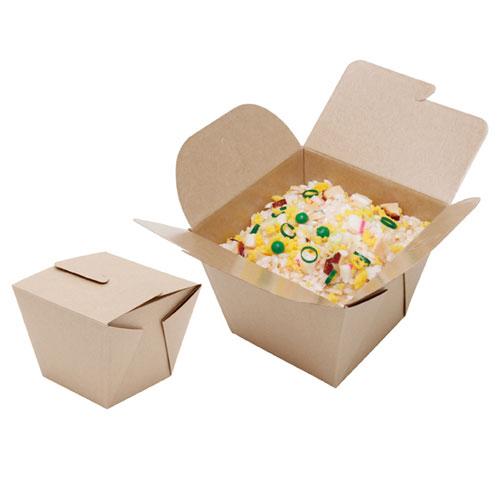 【まとめ買い10個セット品】 ネオクラフトBOX フードBOX S 20枚【店舗備品 包装紙 ラッピング 袋 ディスプレー店舗】【ECJ】