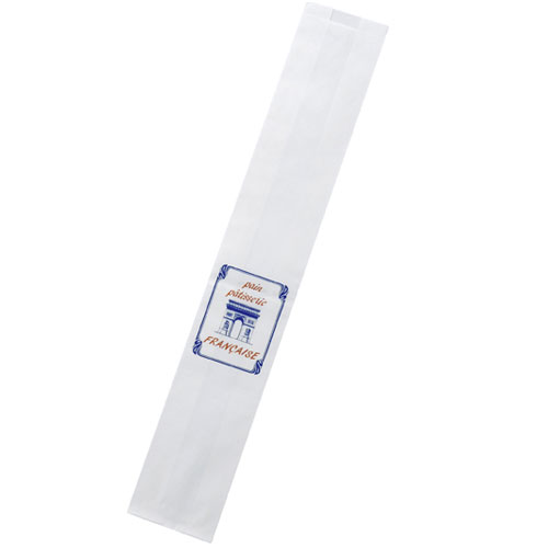 【まとめ買い10個セット品】 フランスパン袋 凱旋門 1000枚【店舗備品 包装紙 ラッピング 袋 ディスプレー店舗】【ECJ】
