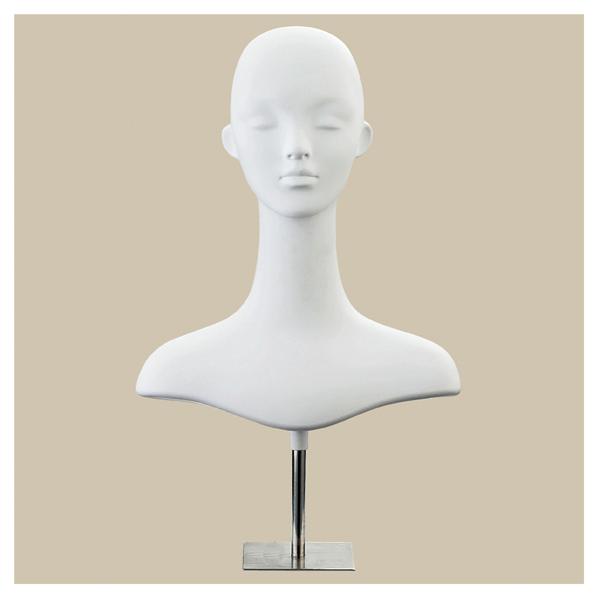 【まとめ買い10個セット品】 婦人卓上ボディ ヘッド ベース有り 【ECJ】