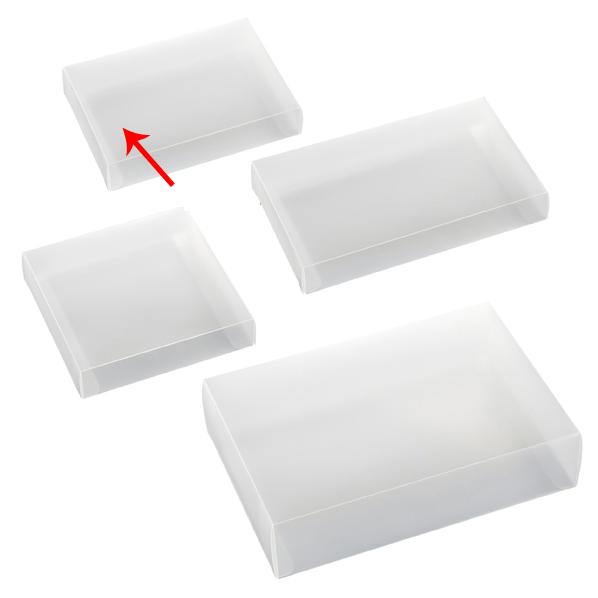 【まとめ買い10個セット品】 半透明ボックス 11×3×15.5cm 10枚 【ECJ】